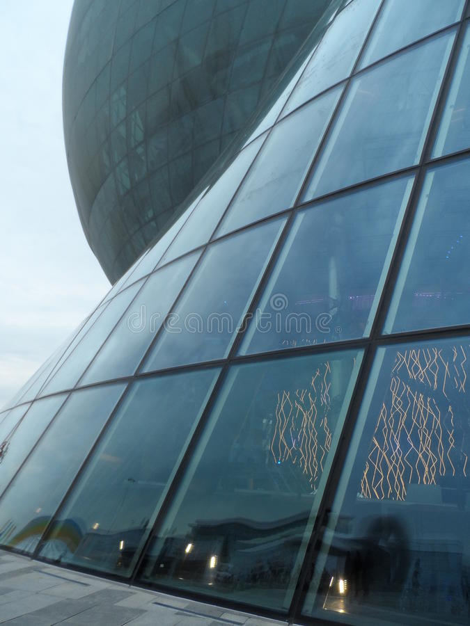 Astana expo 2017 przyszłości energia zdjęcie stock