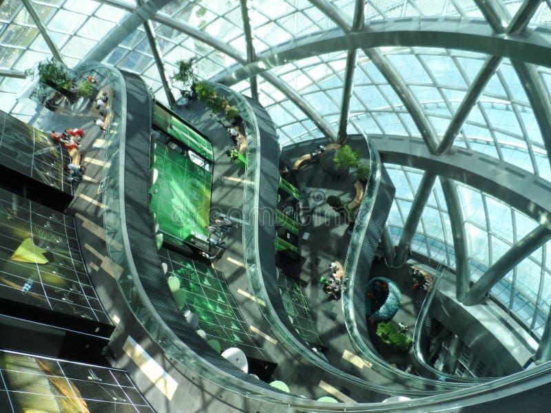 Astana expo 2017 przyszłości energia obraz royalty free