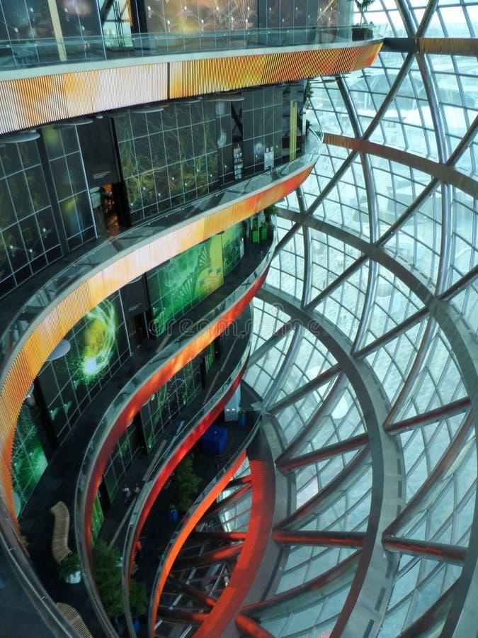 Astana expo 2017 przyszłości energia fotografia royalty free
