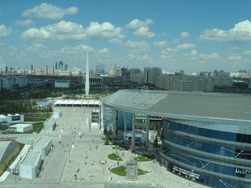 Astana expo 2017 przyszłości energia obraz stock