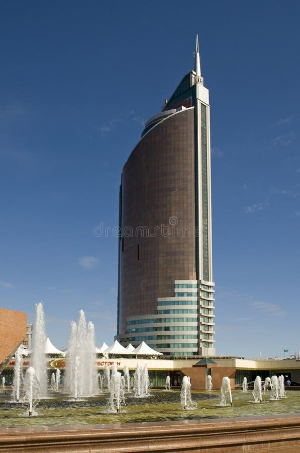 Astana-gebouw van het Ministerie van Handel stock fotografie