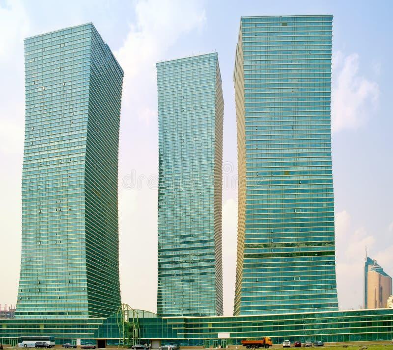 Astana. Horizontal municipal photographie stock libre de droits