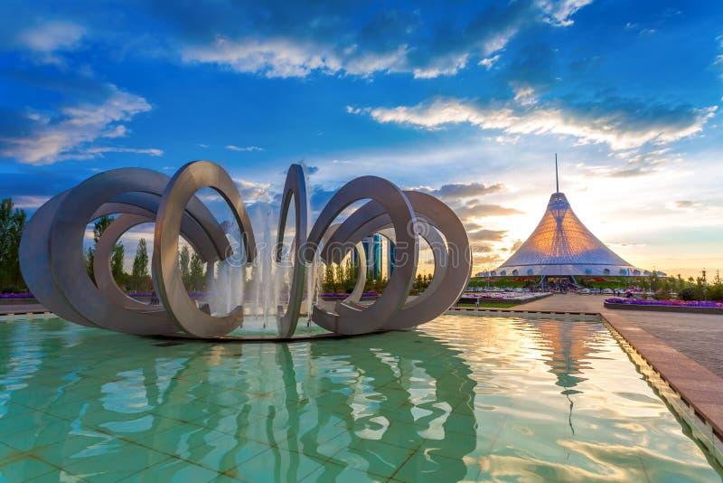 Astana Kasachstan lizenzfreie stockfotos