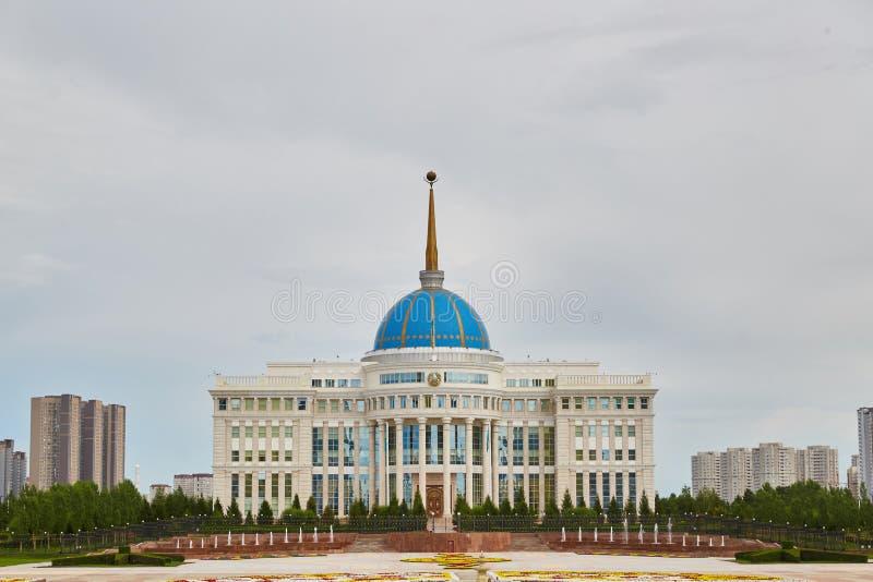 Astana, Kazakhstan - Aqorda, Akorda est la résidence du président de la République du Kazakhstan, Qazaqstan photographie stock libre de droits