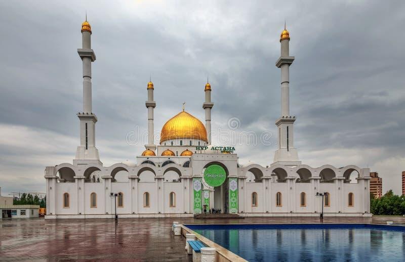 ASTANA, KAZAKHSTAN - 28 JUIN 2016 : Nur Astana Mosque image libre de droits