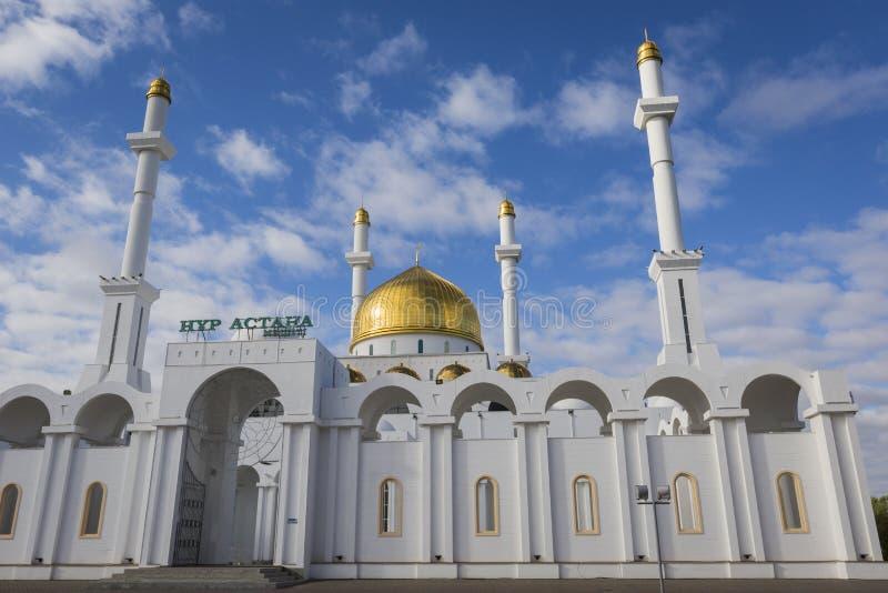 ASTANA, KAZAKHSTAN - 13 SEPTEMBRE 2017 : Extérieur de Nur Ast photo libre de droits