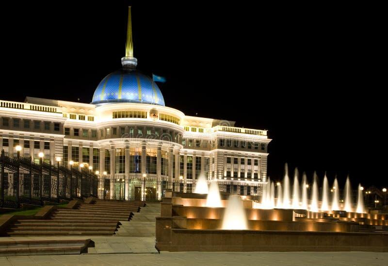 astana kazakhstan slottpresident s arkivfoto