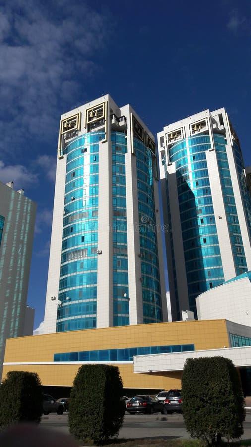 Astana lazur ćwiartki żywy kompleks zdjęcie stock