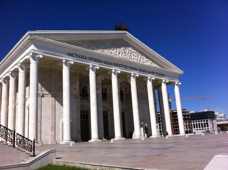 Astana-Oper stockbilder