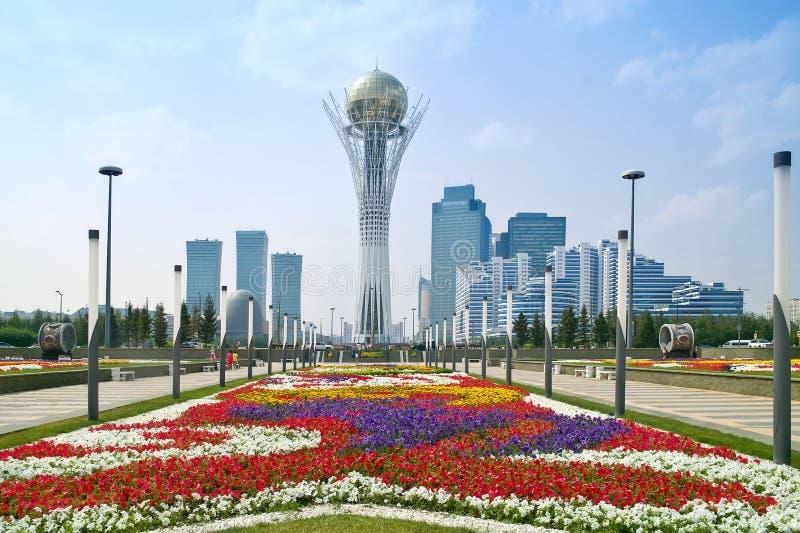 Astana. Paesaggio comunale fotografie stock