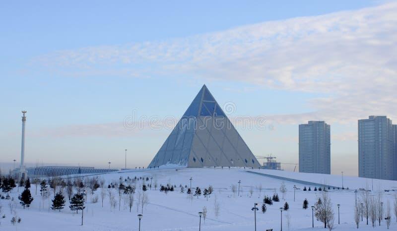 Astana.Palace of Peace and Harmony stock photo