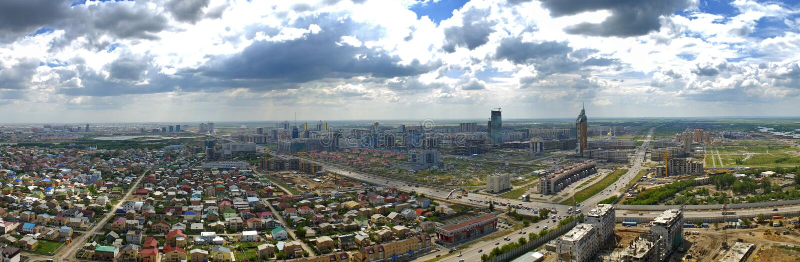 Astana panoram royalty free stock photography