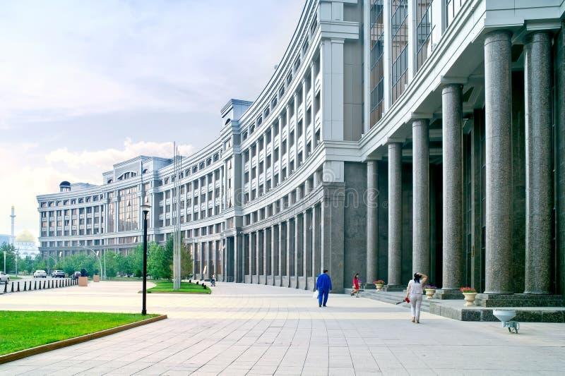 Astana, paysage urbain photographie stock libre de droits