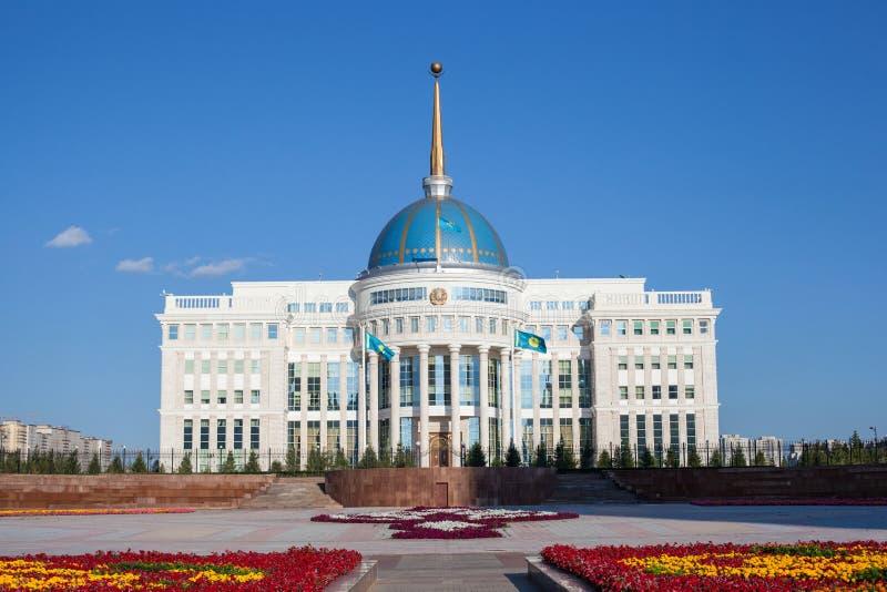Astana presidentslott arkivbild