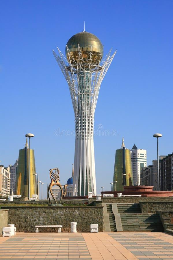 Astana. Symbol of Kazakhstan - Bayterek stock photo