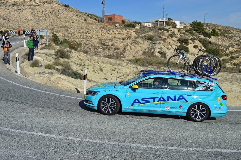 Astana Team Car stock photos