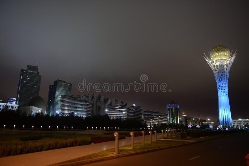 astana Types van hoofdstad van de Republiek Kazachstan stock fotografie