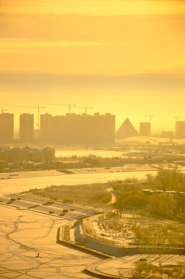 Download Astana Winter stock photo. Image of landscape, kazakhstan - 18494646