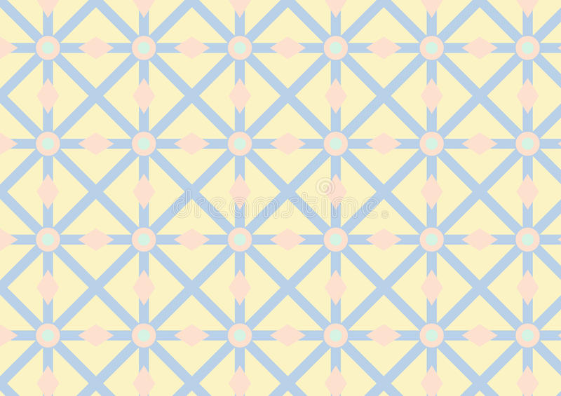 Download Asterisk, Circle And Triangle Pattern On Pastel Color Stock Images - Image: 37637434
