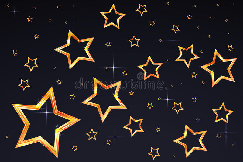 asteroidów niebo obraz stock