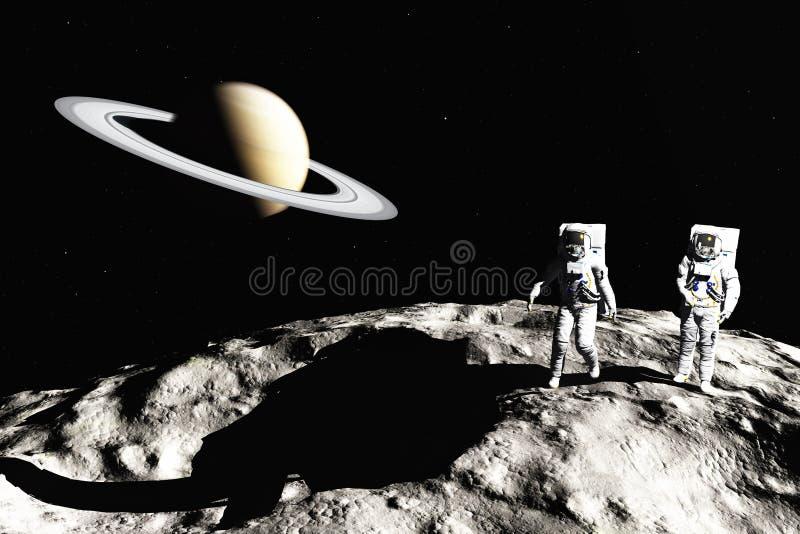 On asteroid