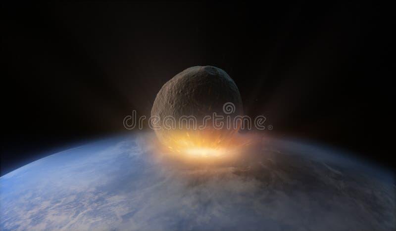 asteroid illustration de vecteur
