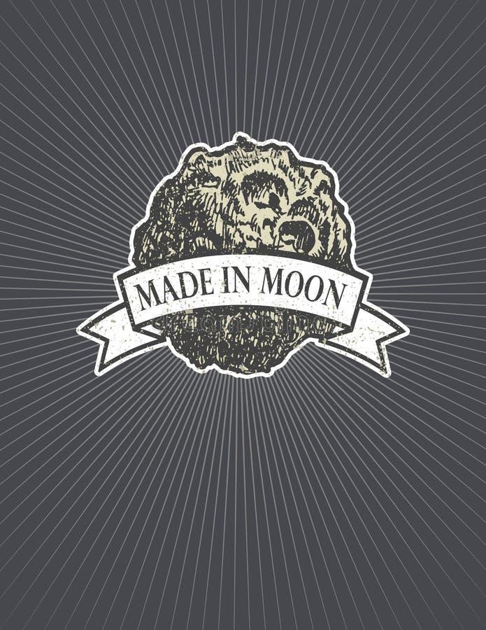 asteroid illustration tirée par la main eps8 de vecteur illustration de vecteur