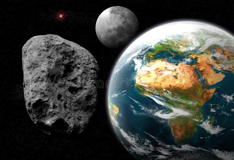 Asteroide foto de archivo