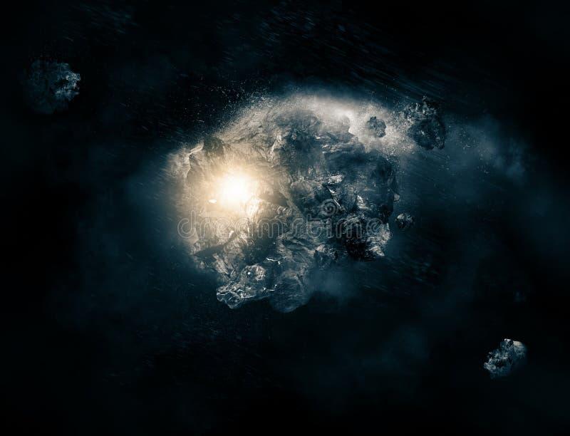 Asteroide libre illustration