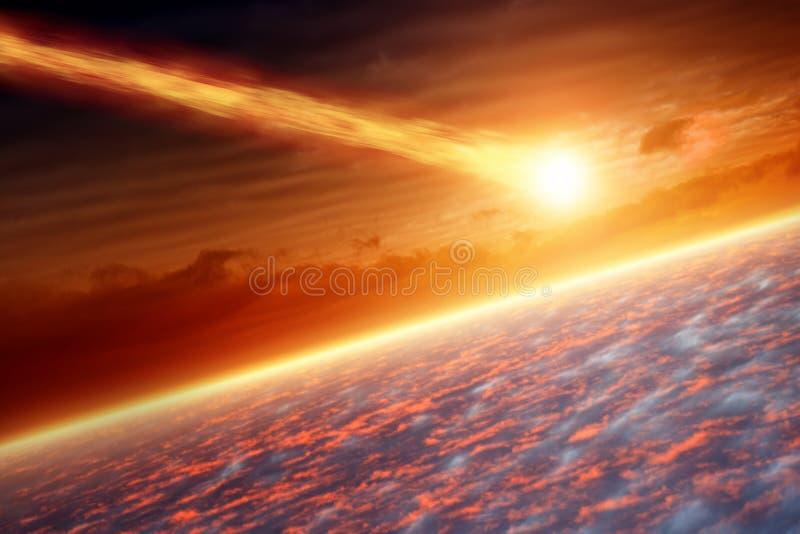 Asteroiden får effekt