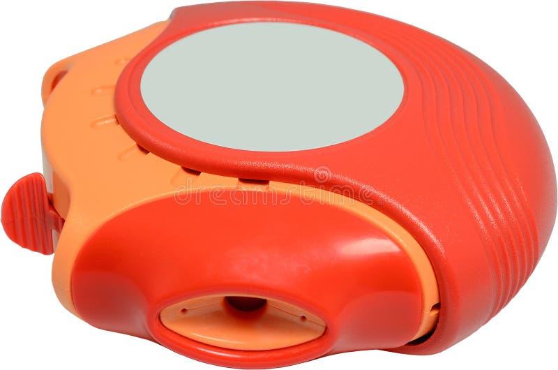 Asthma-Inhalator lizenzfreies stockfoto