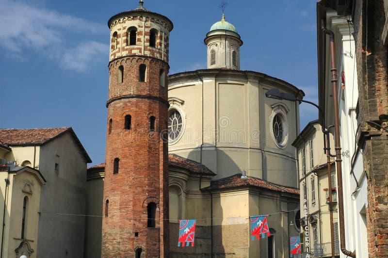Asti (Itália) fotografia de stock royalty free