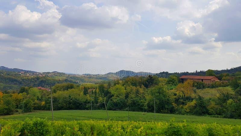 Astigian-Hügel stockfotografie