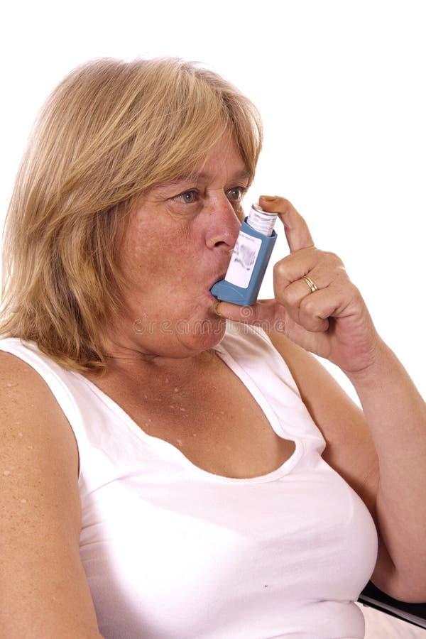 astma royaltyfri bild