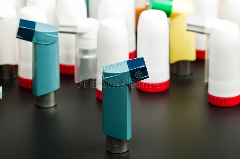 astma inhalatory obraz royalty free