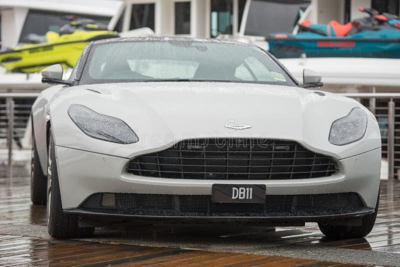 Aston 2018 Мартин DB-11 стоковые фото