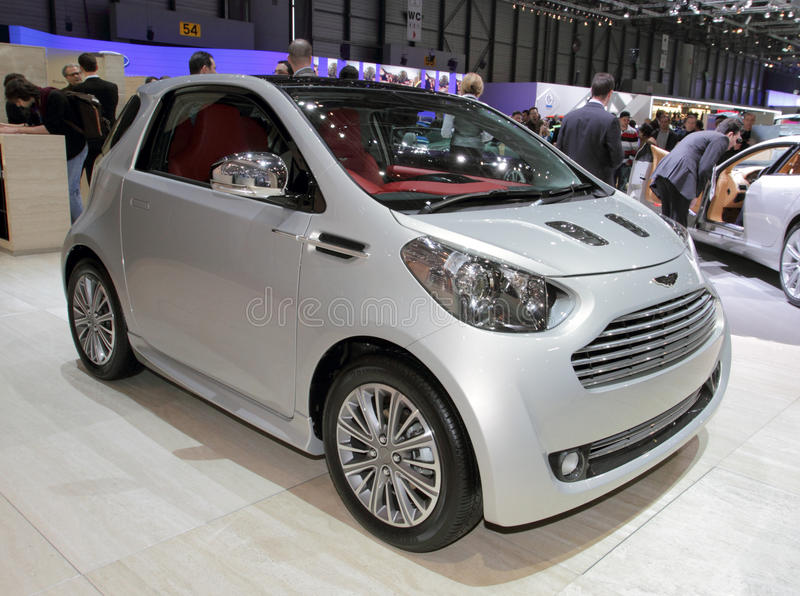 Aston Martin Cygnet - 2010 Geneva Motor Show Editorial Photo