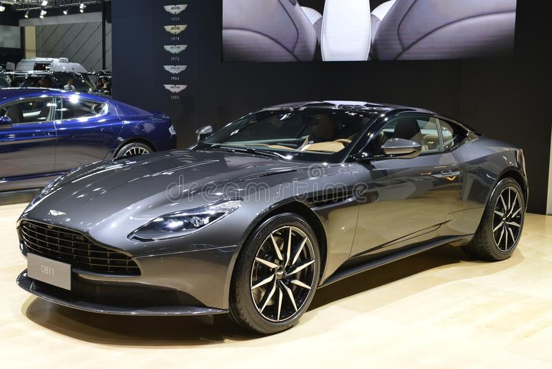 Aston Martin DB11 imágenes de archivo libres de regalías