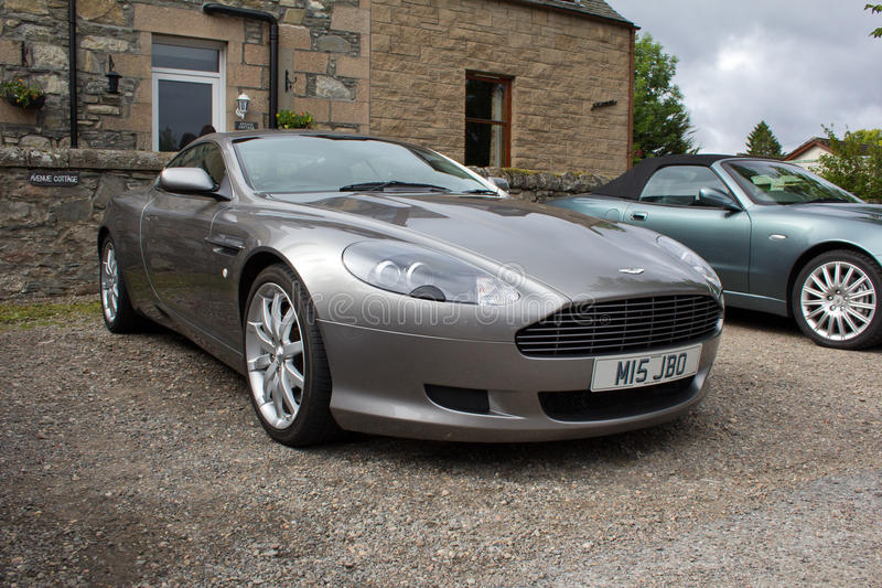 Aston Martin DB9 stockbild