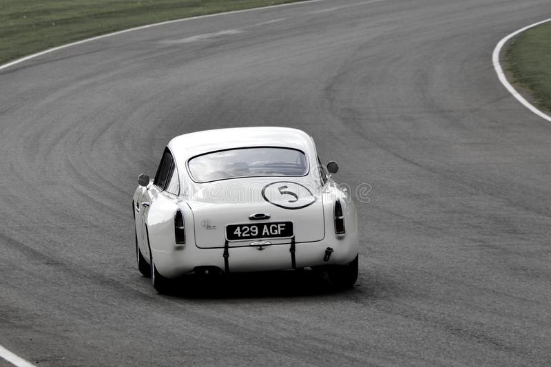 Aston Martin DB5 stock foto's