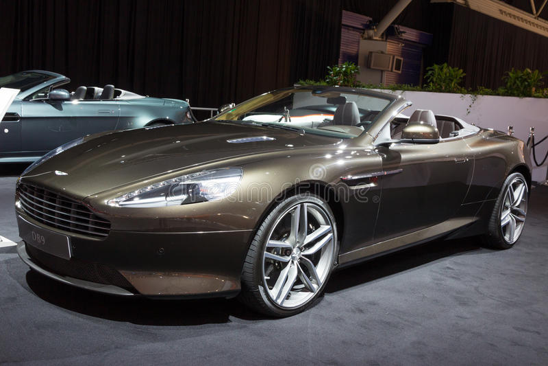 Aston Martin DB9 immagine stock libera da diritti