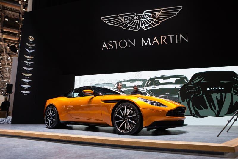 Aston Martin DB11 foto de archivo libre de regalías