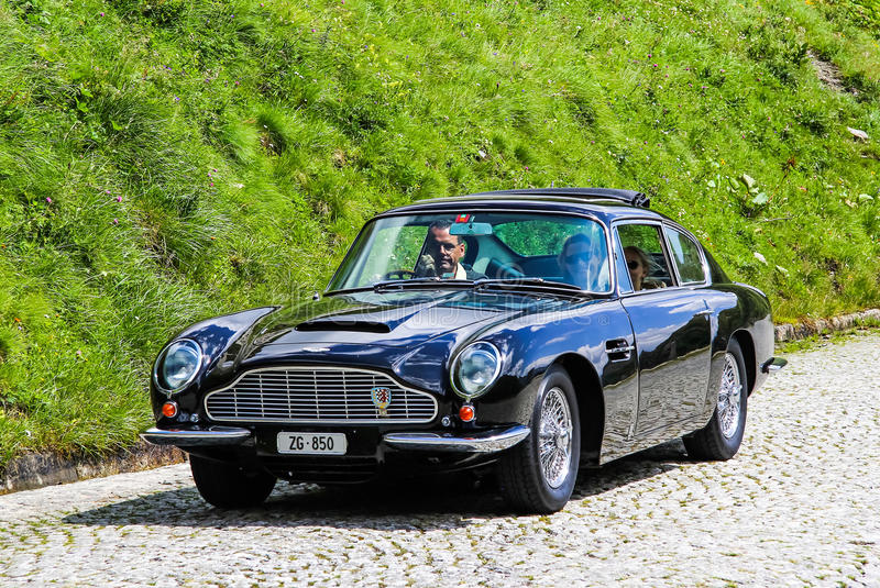Aston Martin DB6 royalty free stock images