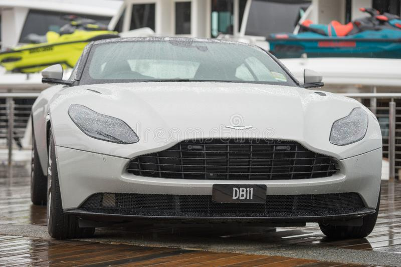 2018 Aston Martin DB-11 stock photos