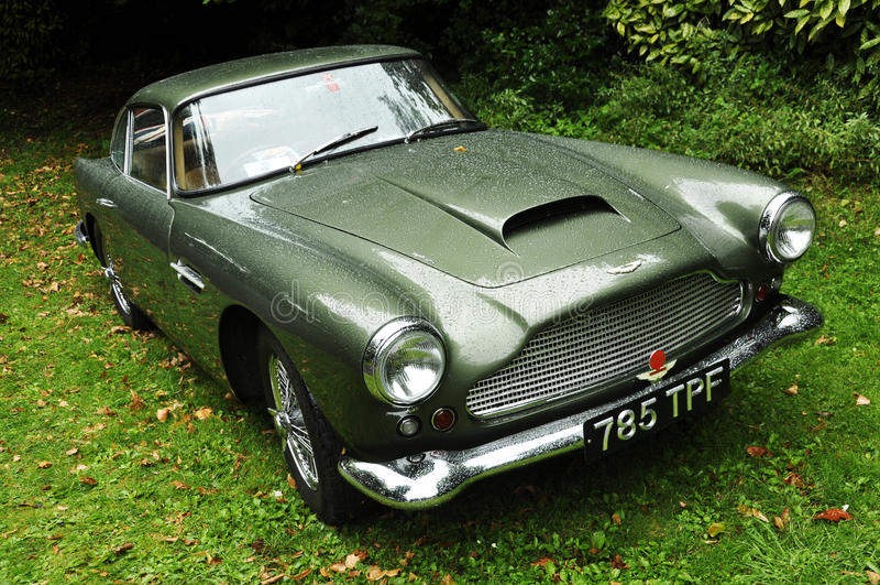 Aston Martin DB4 fotografia stock