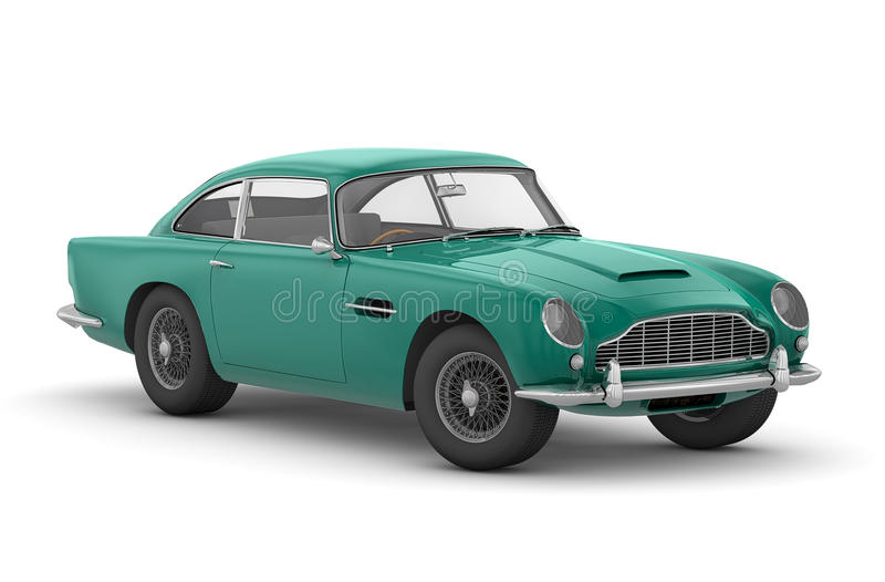 Aston Martin DB5 Vantage (1964) Fotos de archivo libres de regalías
