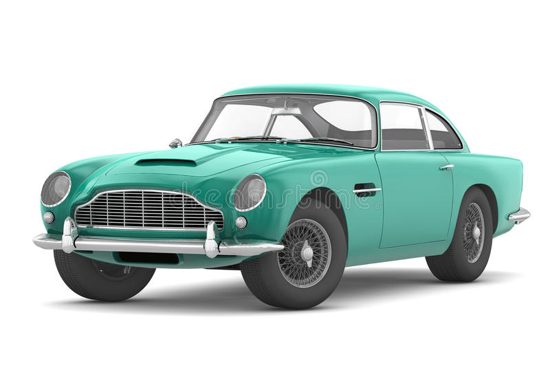 Download Aston Martin DB5 Vantage (1964) Stock Illustration - Illustration: 20435404