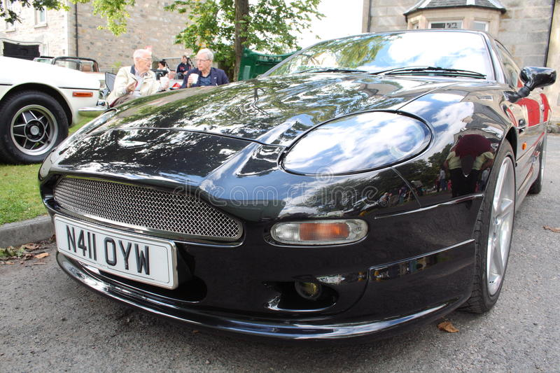 Aston Martin DB7 stock image