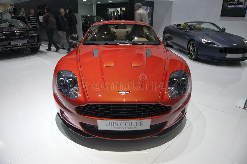Download Aston Martin DBS Coupe editorial stock photo. Image of exhibition - 23743858