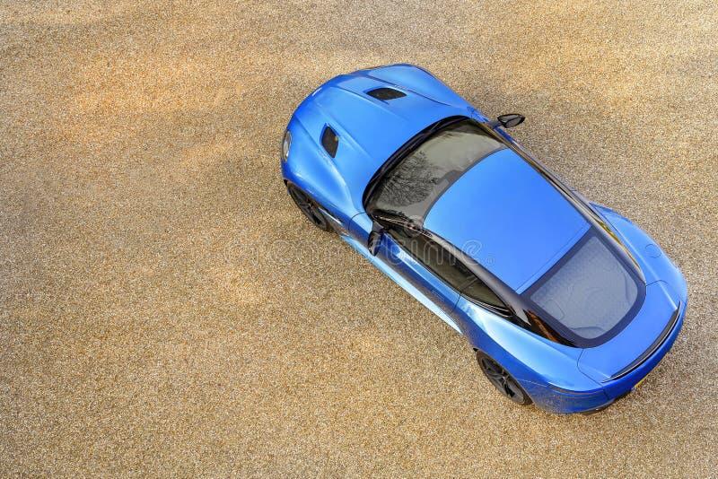 The Aston Martin DBS Superleggera ... stock image